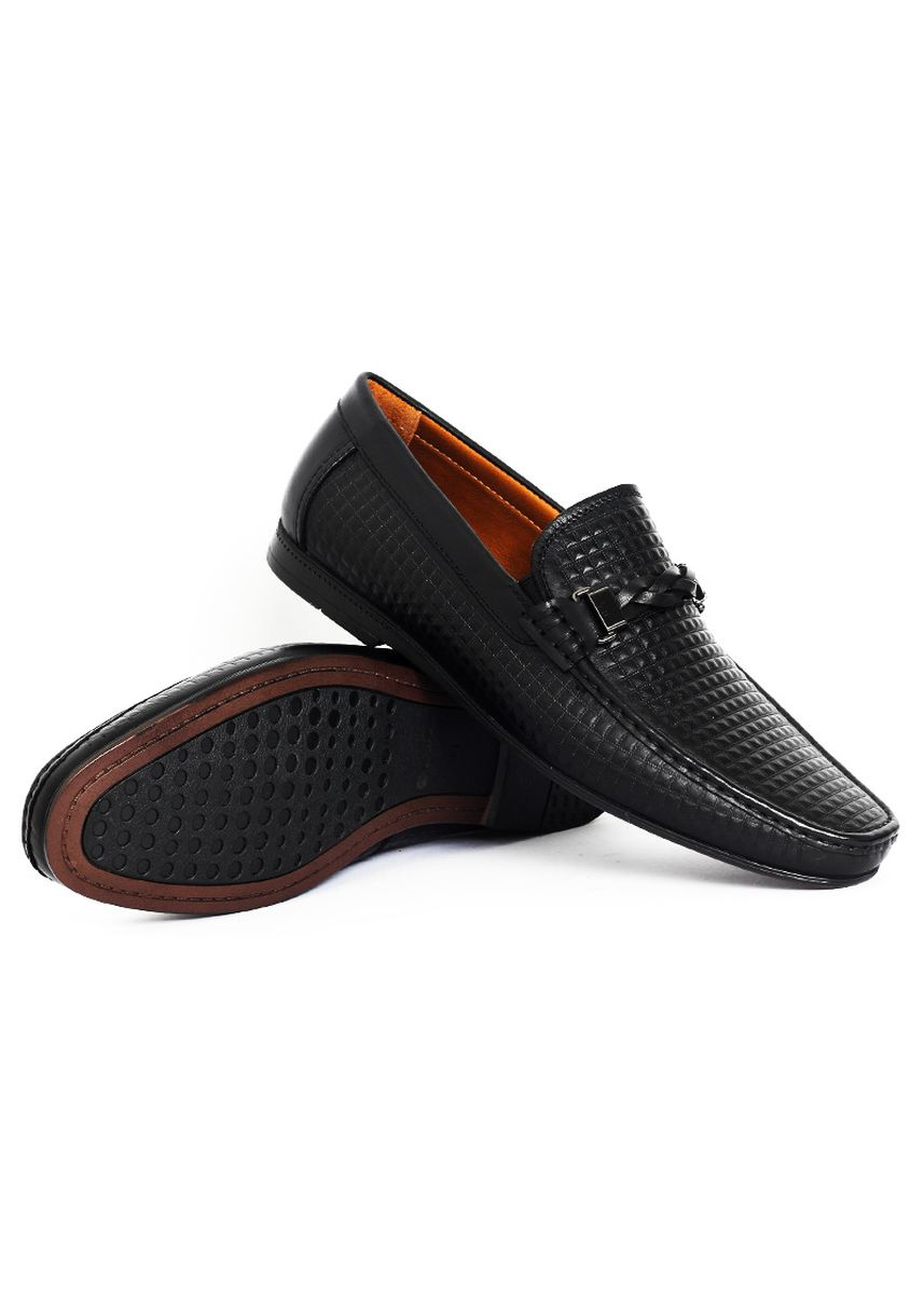 Black color Formal Shoes . Gino Mariani Everest - Men's Formal Shoes -