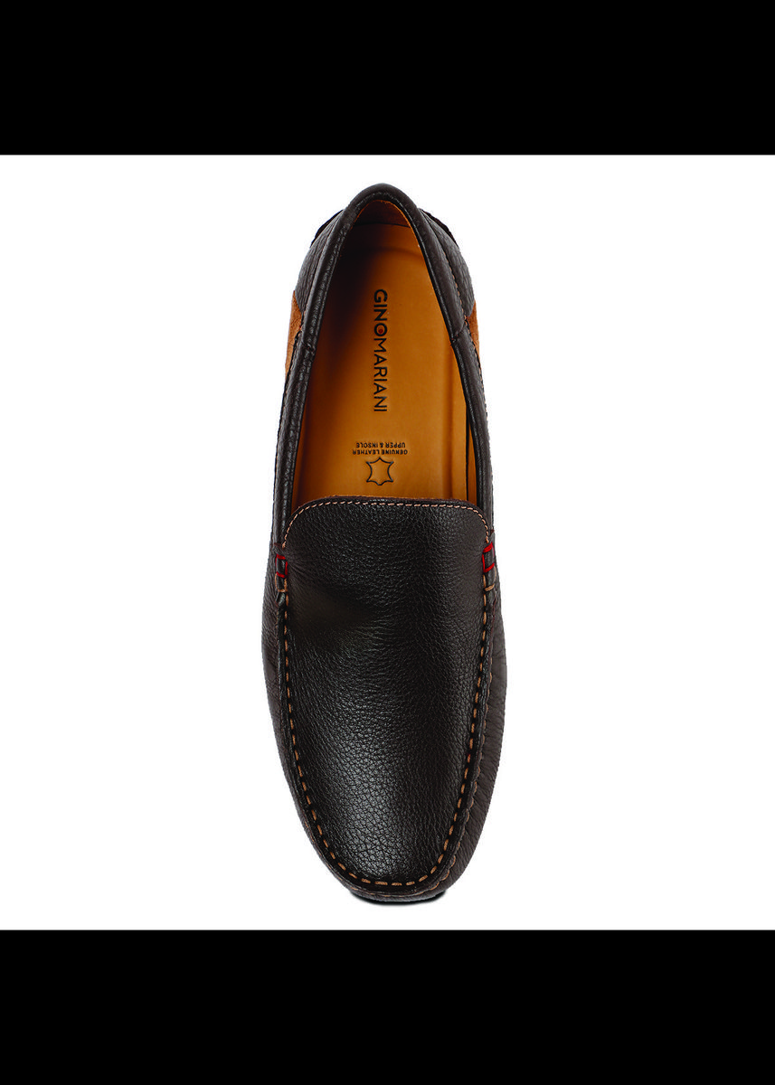 Brown color Casual Shoes . Gino Mariani Edgardo 2 - Men's Loafers Shoes -