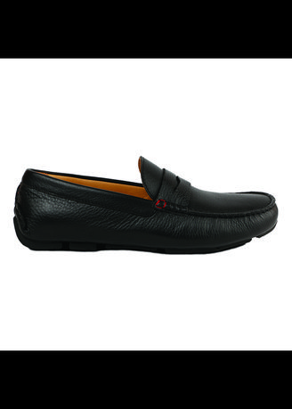 Hitam color Sepatu Kasual . Gino Mariani Edgardo 3 - Men's Loafers Shoes -