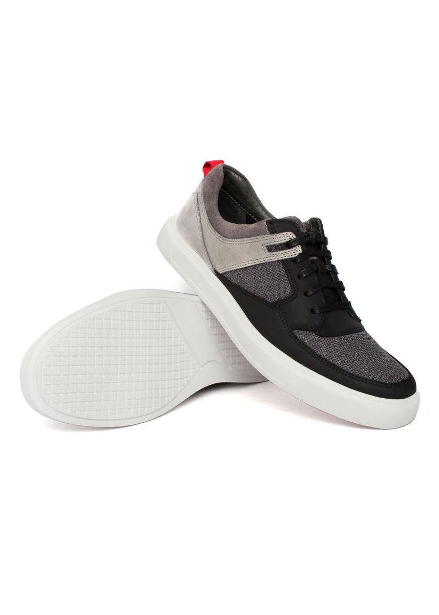 Black color Casual Shoes . Gino Mariani Adrien - Men's Sneakers Shoes -