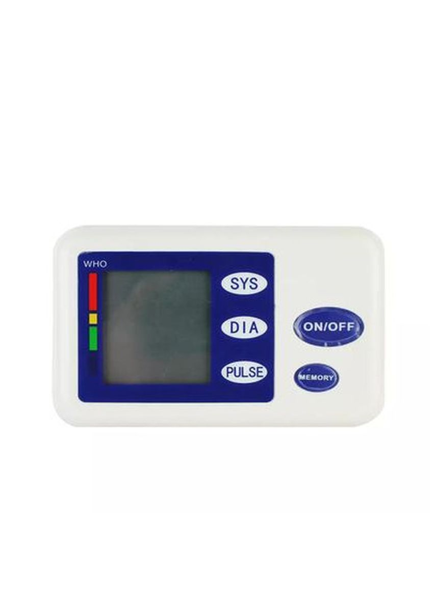 Blue color Personal Care . Timeless Manila Digital Blood Pressure Monitor - Heart Rate Tracker -