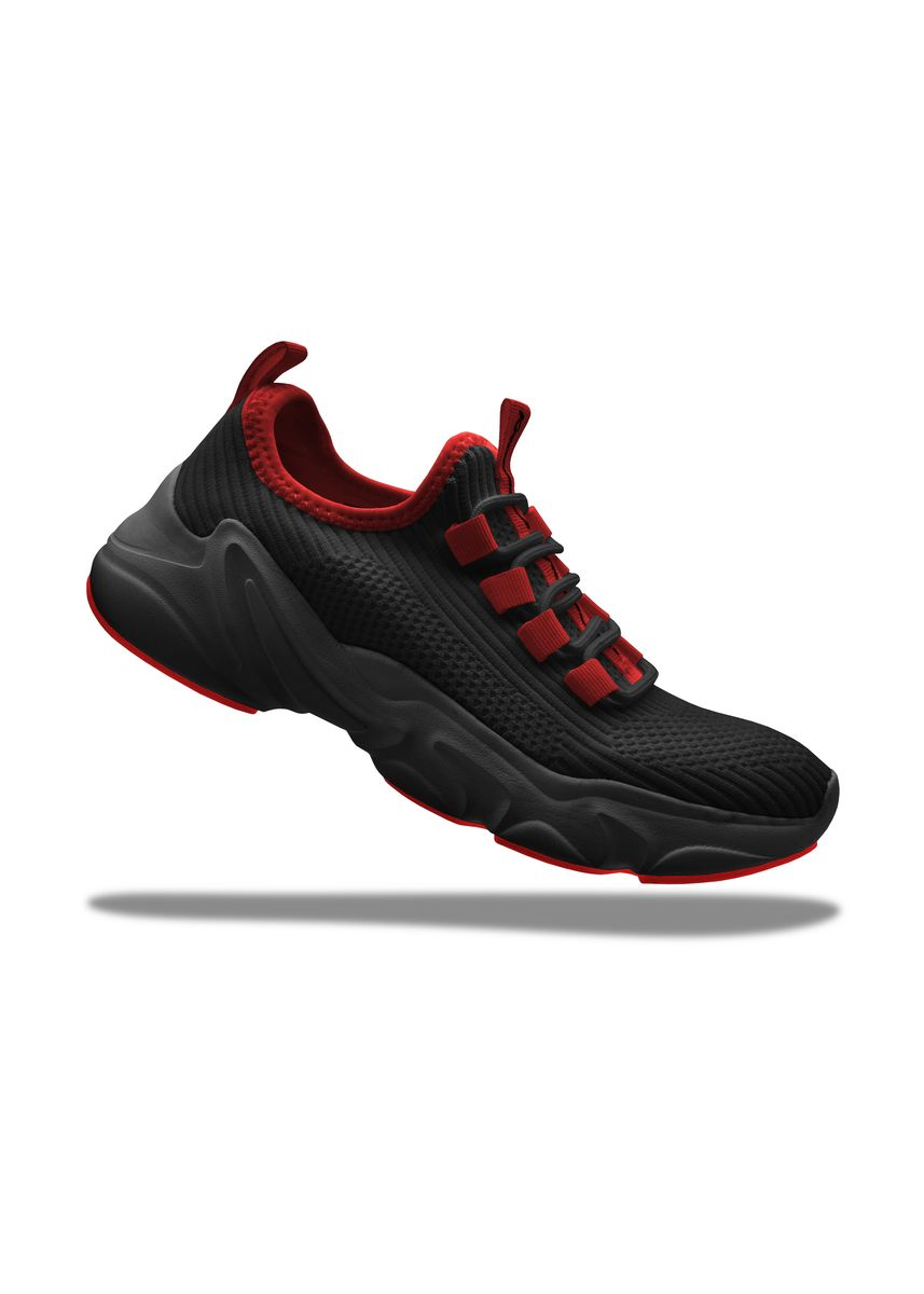 Red color Casual Shoes . Krooberg Nitro Men's Outdoor Shoes -