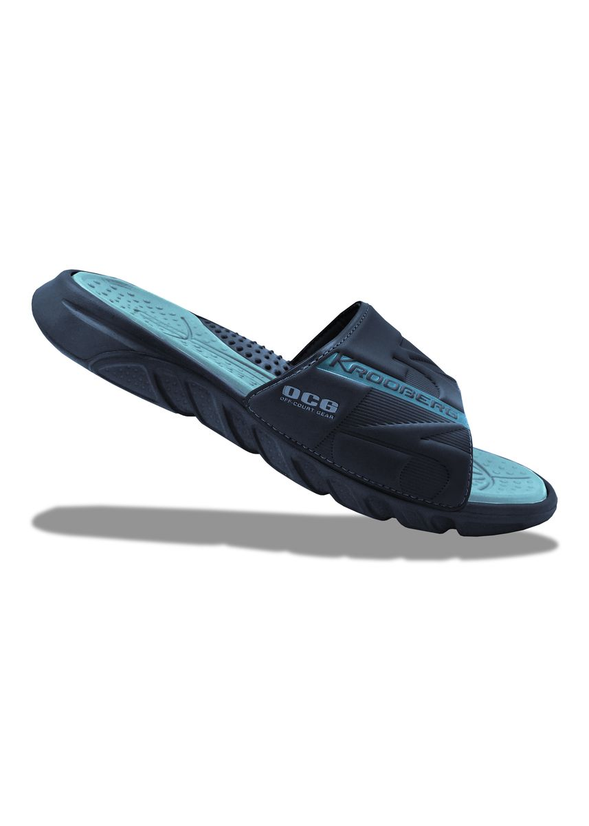 Blue color Sandals and Slippers . Krooberg OCG Men's Outdoor Slippers -