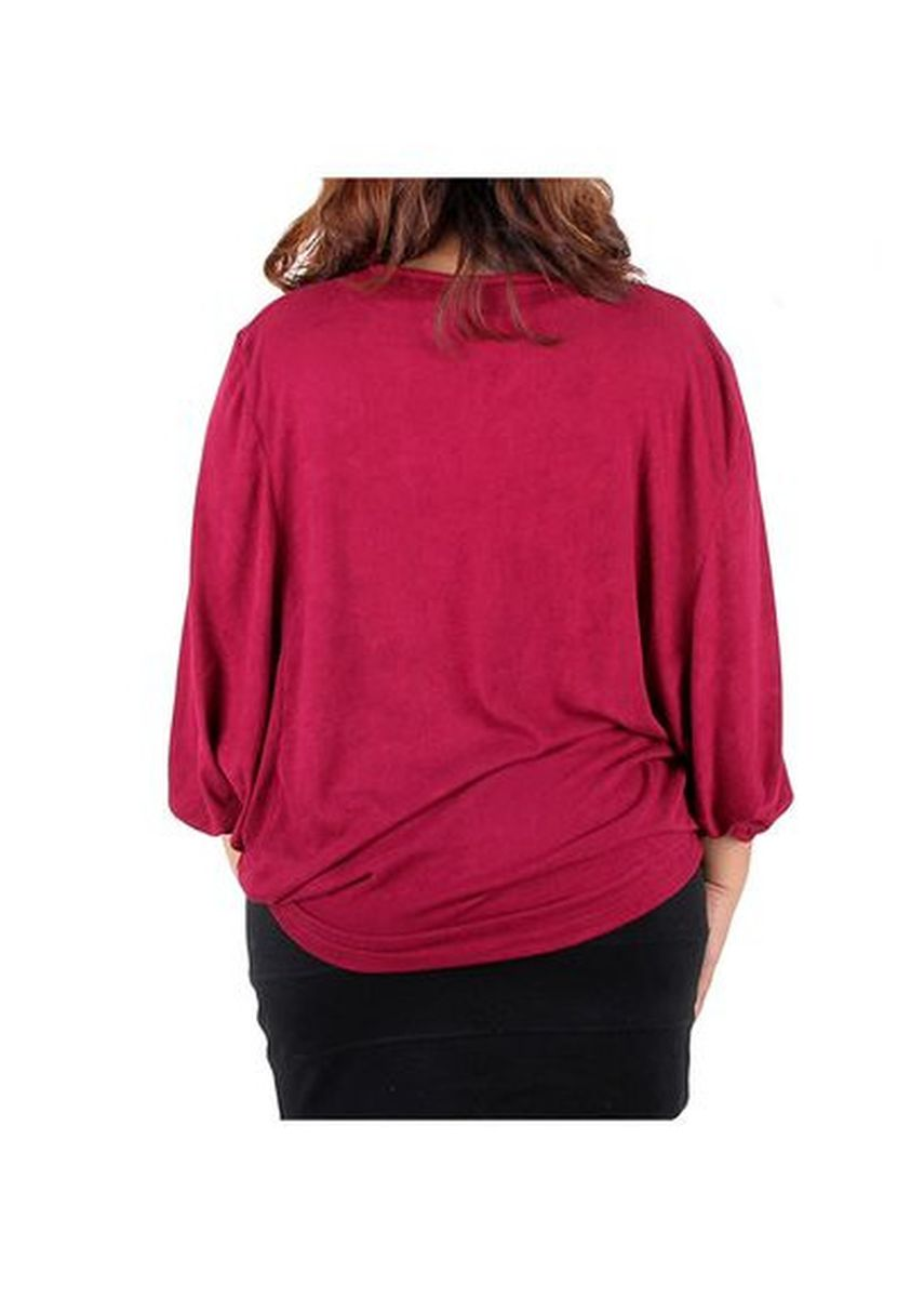 Maroon color Tops and Tunics . Timeless Manila Zoey  Short Sleeve Blouse -