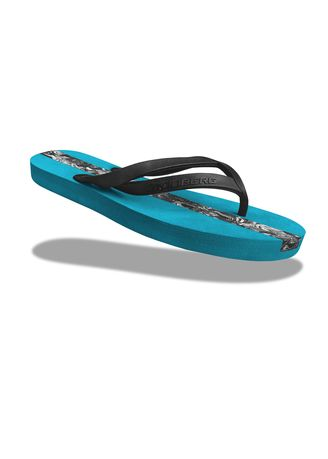Blue color Sandals and Slippers . Krooberg Lily-3 Women's Outdoor Slippers -