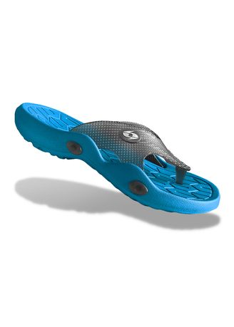 Blue color Sandals and Slippers . Krooberg Viper-2 Men's Outdoor Slippers -