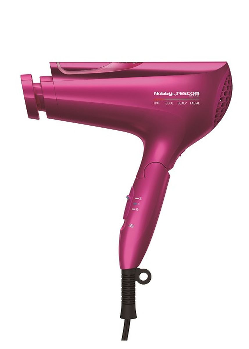 Pink color Styling . Nobby by Tescom Collagen Ion Hairdryer NTCD50 -