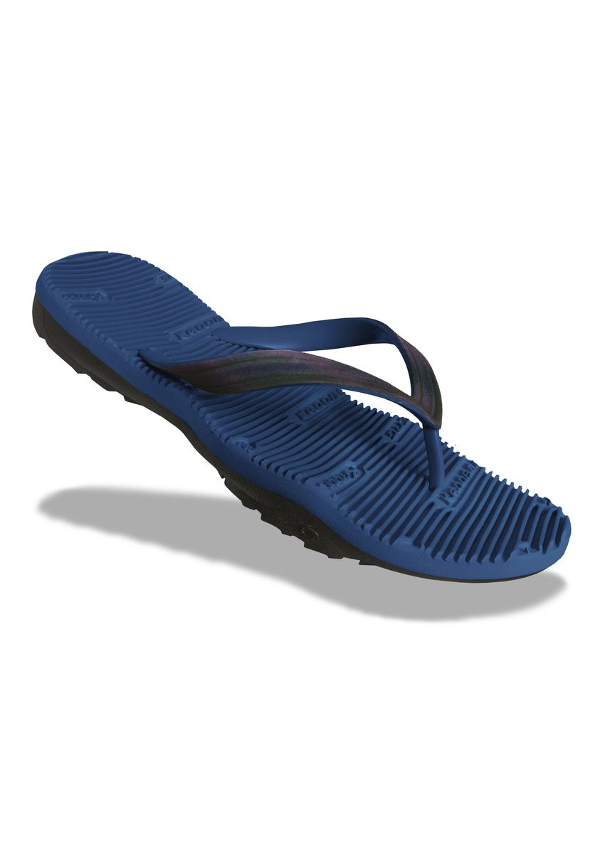Blue color Sandals and Slippers . Krooberg Contour-9 Men's Outdoor Slippers -