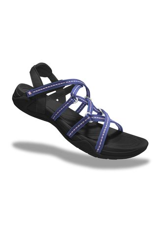 Purple color Sandals and Slippers . Krooberg Lady 2X Outdoor Sandals -