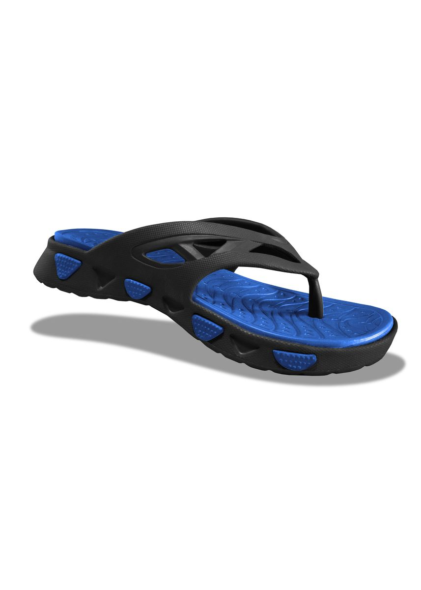 Black color Sandals and Slippers . Krooberg Wave Men's Outdoor Slippers  -