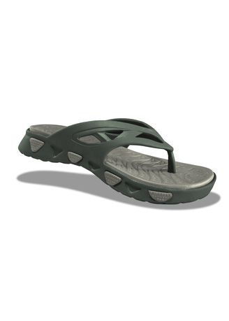 Olive color Sandals and Slippers . Krooberg Wave Men's Outdoor Slippers -