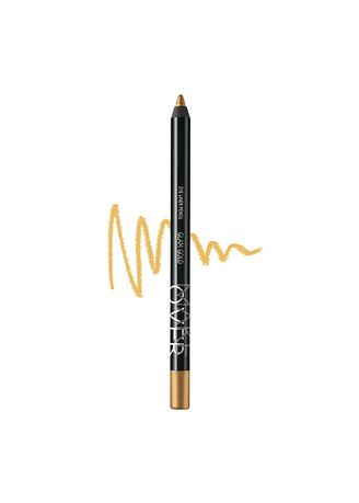 Gold color Eyes . Makeover Eyeliner pencil -