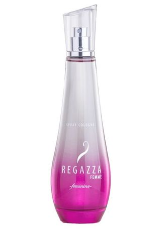 Merah Muda color Parfum . Regazza Femme Spray Cologne Feminine 100ml -