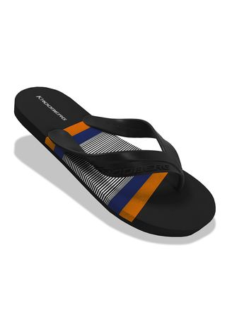 Black color Sandals and Slippers . Krooberg Cali-2 Men's Outdoor Slippers -