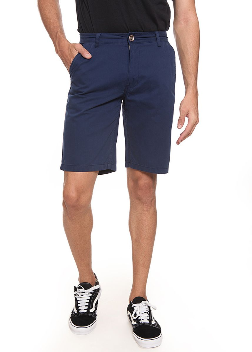 Navy color Shorts & 3/4ths .  2nd Red Short Cotton Twill Premium Bermuda Navy -