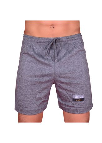 Grey color Innerwear . Walker Boxer Shorts With Drawstring -