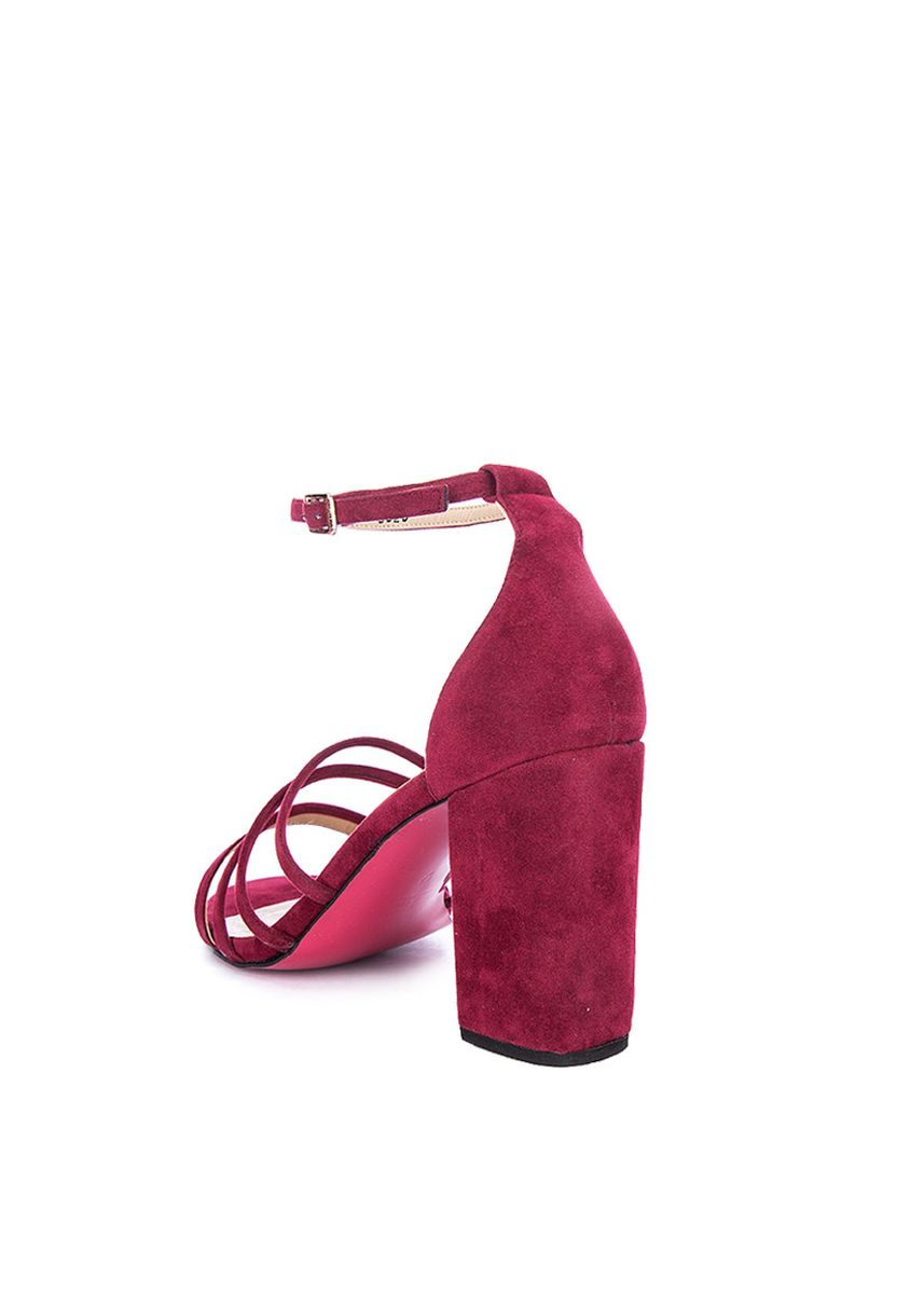Maroon color Heels . Carmelletes Strappy Heelled Sandals -