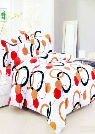 Multi color Bedroom . Celina Home Textiles 3 In 1 Double 54x75 Cotton Bed Sheet Set Premium Quality BS08-54 -