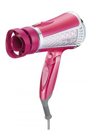 Pink color Brushes . Nobby by Tescom Moist Hood Ion Hair Dryer -