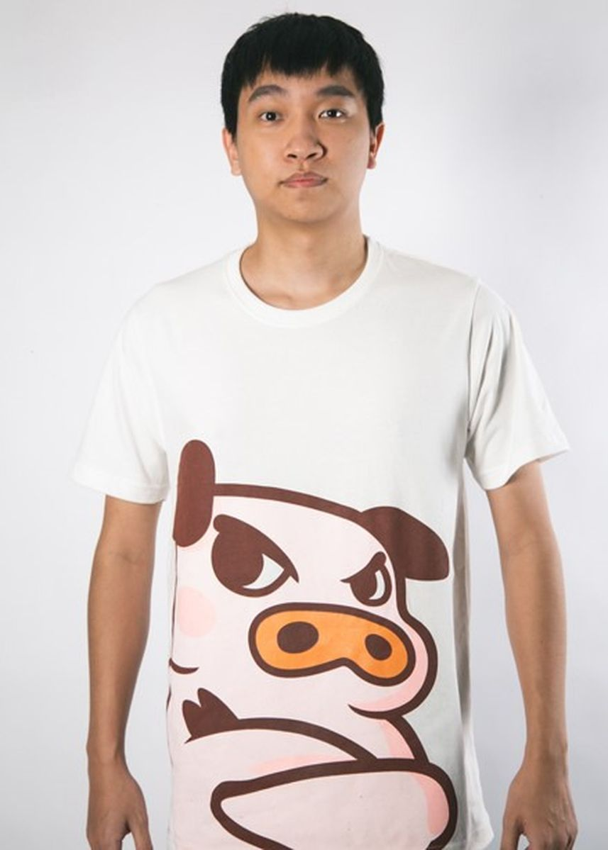 White color  . Bacon Time - Super soft - Spring 2020 -