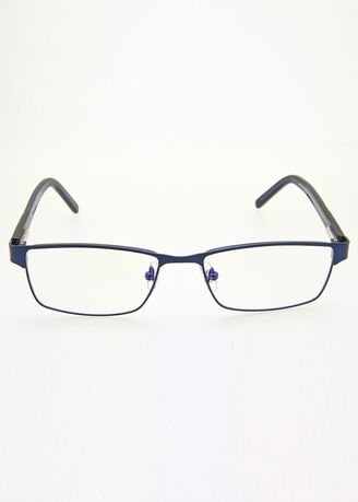 Navy color Frames . AXN Unisex Classic Anti-Radiation Glasses -