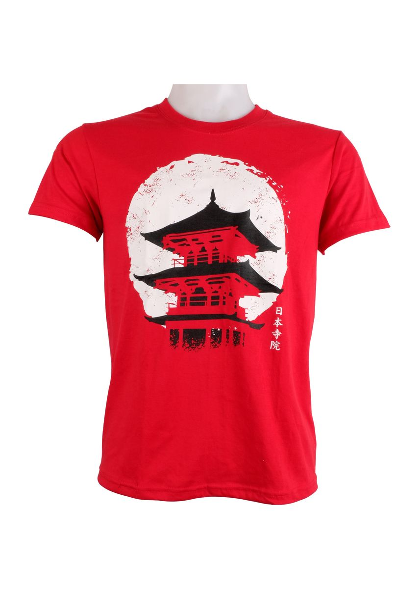 Red color T-Shirts and Polos . INSPI Men's Printed T-shirt -