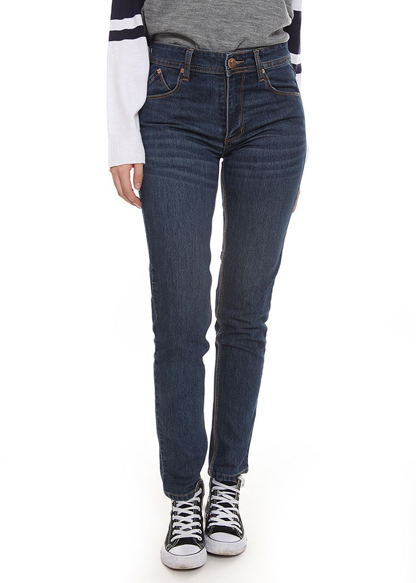 Navy color Jeans .  2nd Red Slim Fit Jeans Premium Navy  -