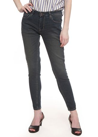 Grey color Jeans .  2nd Red Skinny Jeans Premium Grey Stone -
