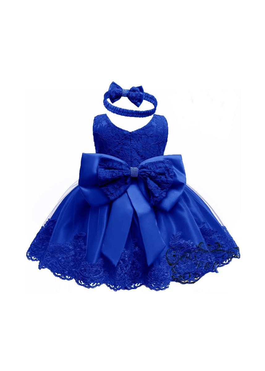 Biru color Terusan/Dress . Dress Corry kids -