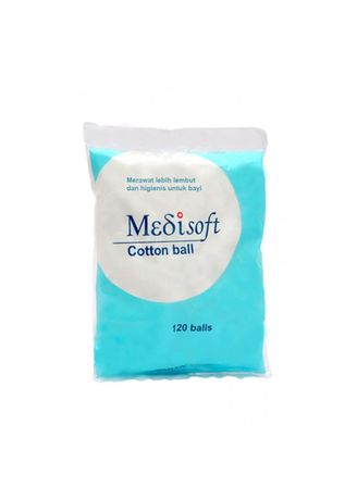 No Color color Personal Care . MEDISOFT COTTON BALL 75 GR -
