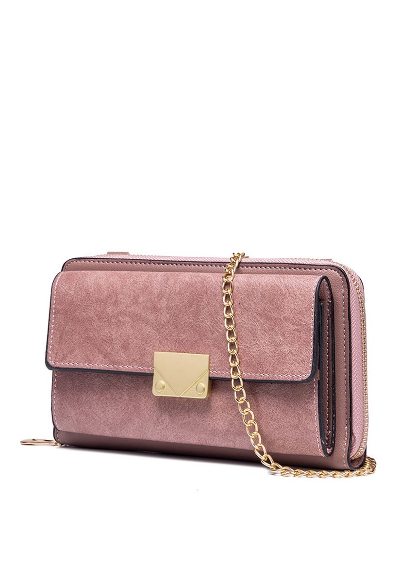 Pink color Wallets and Clutches . GYKACO Dompet & Clutch Wanita - Maria - Fashion Wallet & Clutch (Import) -