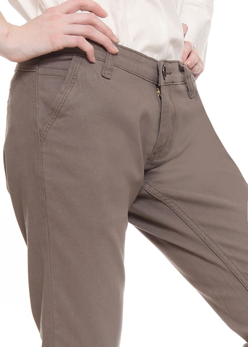 Cokelat color Celana Panjang .  2nd Red Slim Fit Chinos Trousers Light Brown -
