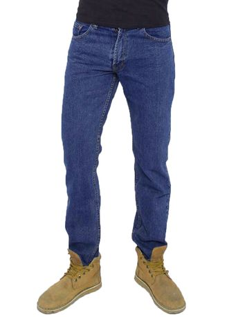 Blue color Jeans .  2nd Red Jeans BASIC Premium Regular Fit Blue -