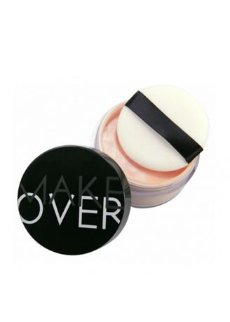 Beige color Face . MAKE OVER Silky Smooth Translucent Powder Shade 03 Champagne -