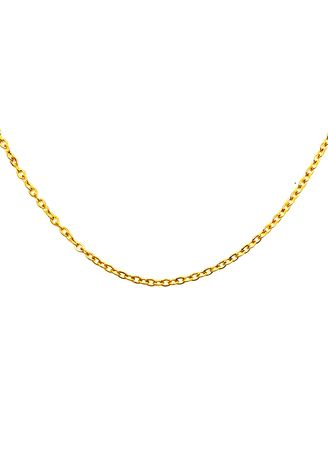 "Gold color  . pflow Core Chain in Gold 16"" -"