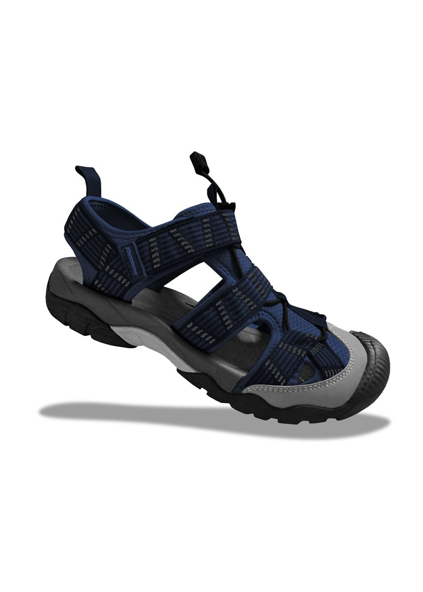 Navy color Sandals and Slippers . Krooberg ORG Men's Outdoor Sandals -