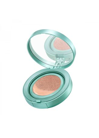 Brown color Face . WARDAH Exclusive Flawless Cover Cushion 04 Natural -