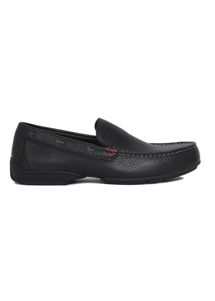 Black color Casual Shoes . Gino Mariani Gianluigi Genuine Leather Men's Loafers Shoes -