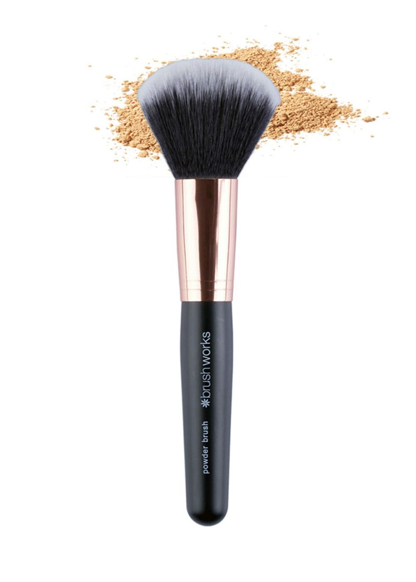Pink color Applicators . Powder Makeup Mineral Foundation Brushes -