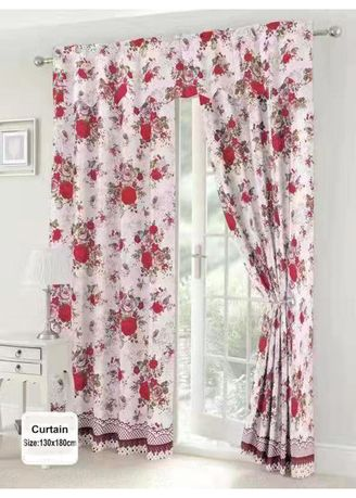 Multi color Home Decor . Celina Home Textiles New 1PC Red Rose Design String Curtain for Window or Home Decor 130x180cm C094 -
