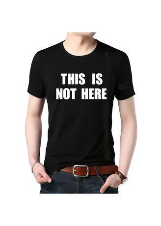 T-Shirts and Polos . Kaos T-Shirt This Is Not Here Distro / Kaos Pria / T-Shirt Pria Anime Premium -