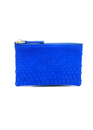 Blue color Wallets and Clutches . Saigon Leather Coin Purse -