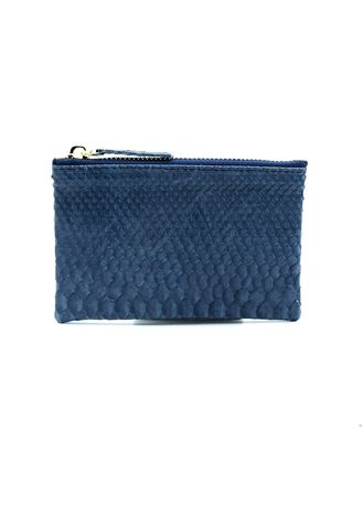 Navy color Wallets and Clutches . Saigon Leather Coin Purse -
