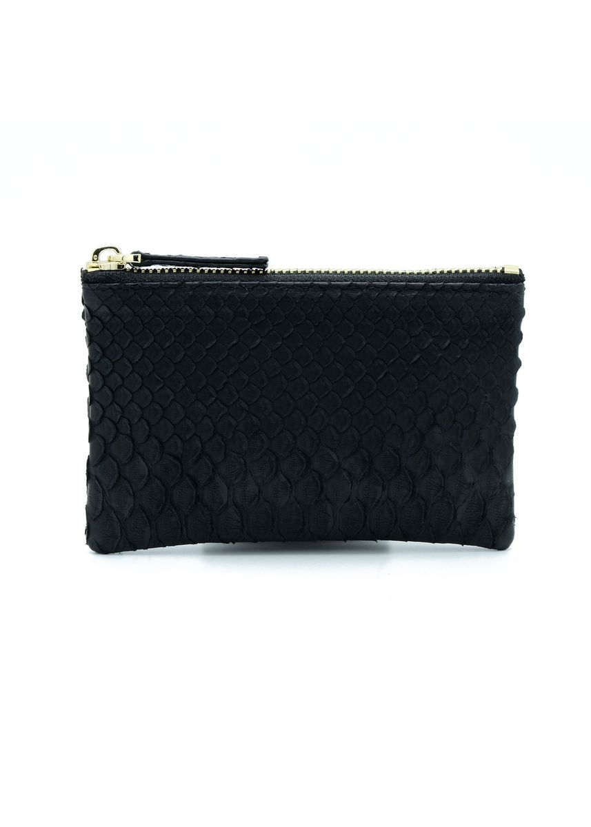 Black color Wallets and Clutches . Saigon Leather Coin Purse -