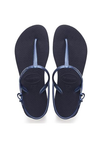 Navy color Sandals and Slippers . Havaianas Freedom SL -