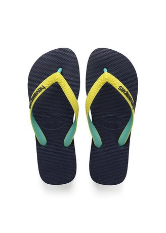 Navy color Sandals and Slippers . Havaianas Top Mix -