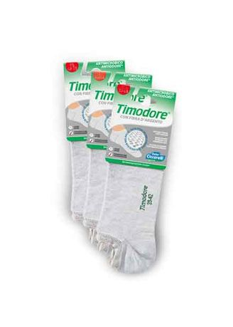 Grey color Socks . Timodore Invisible Socks (3pcs Pack) -
