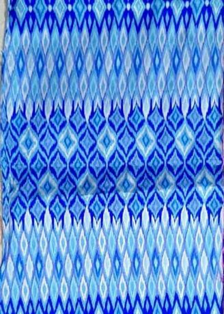 Blue color Polyester . BLUE BOSS -