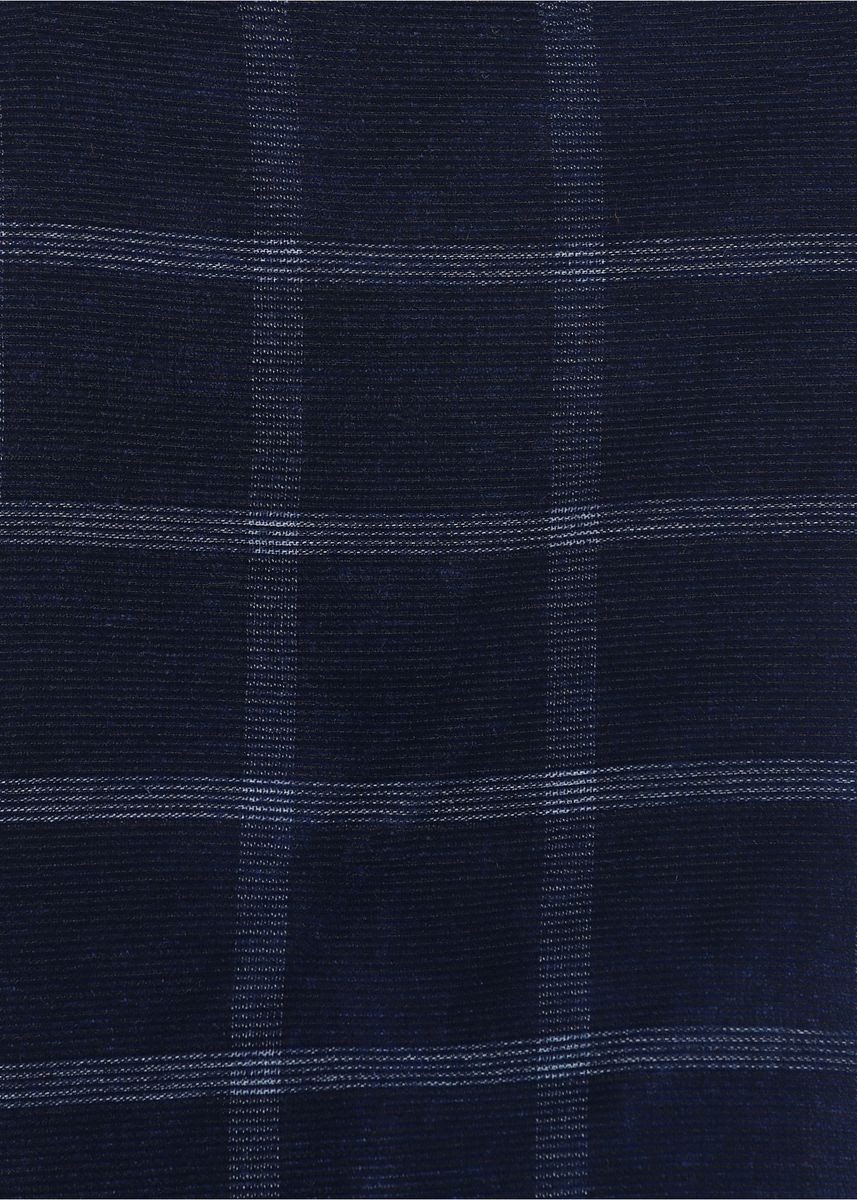 Navy color  . Yarn Dyed Shirting Corduroy 100% Organic cotton Rs275/-/meter -