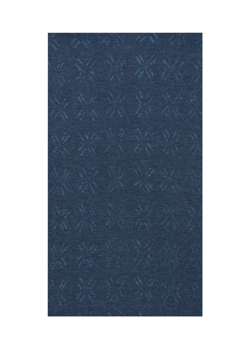 Blue color  . 80% Organic cotton 20% Recycled poly, Rs. 660 per kg -